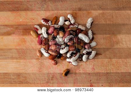 Heap of kidney beans