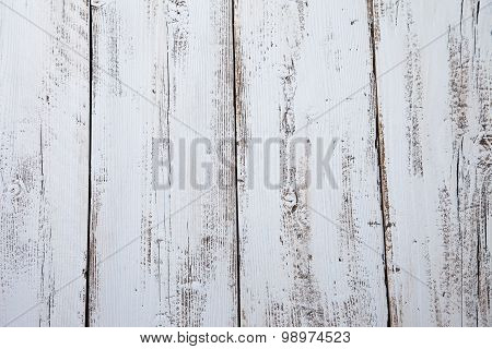 Close Up Of Light Blue Wooden Background