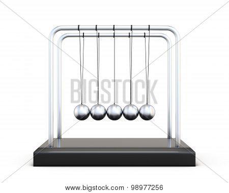 Newton S Balls Front View
