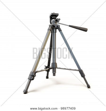 Tripod Isolated On White