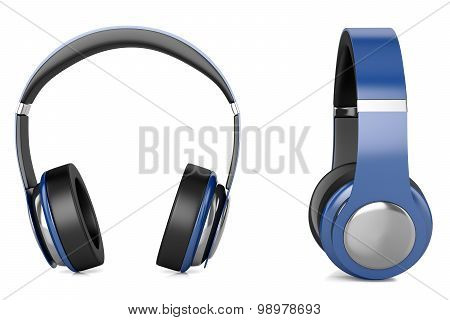 Headphones Blue