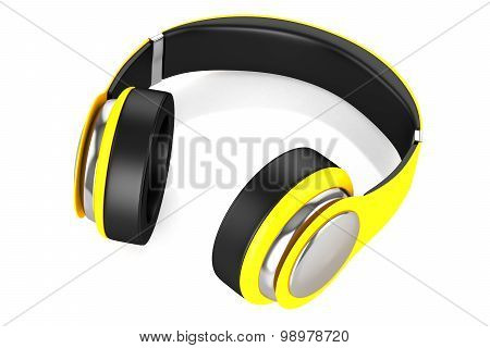 Headphones Yellow