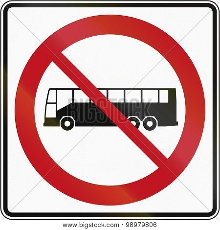 No Buses In Canada