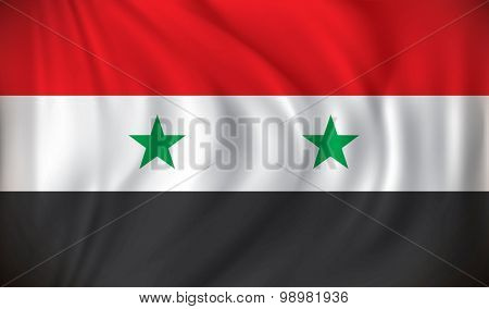 Flag of Syria - vector illustration