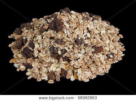 Pile of muesli