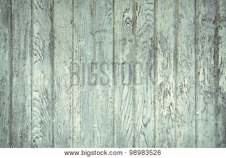 faded turquoise painted barn wood