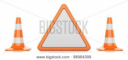 Traffic Cones, Triangle