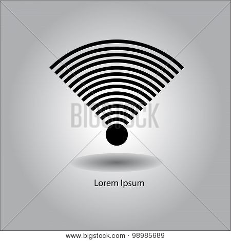 Illustration Vector Wireless And Wifi Icon Or Sign For Remote Internet Access With Very Strong Signa
