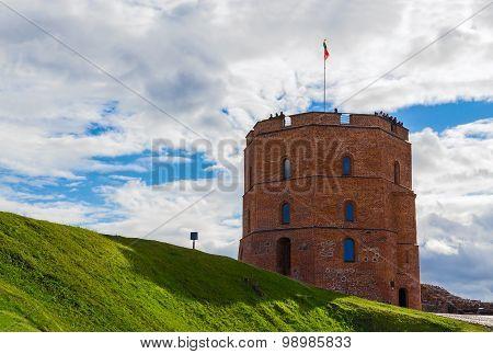 Tower Of Gediminas, Vilnius, Lithuania