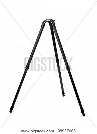 Carbon Tripod Half Unfolded In The Studio