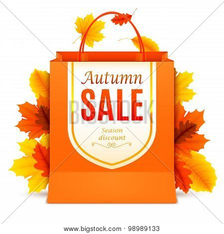 Autumn Sale Shopping Bag