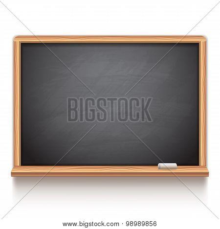 Black School Chalk Board