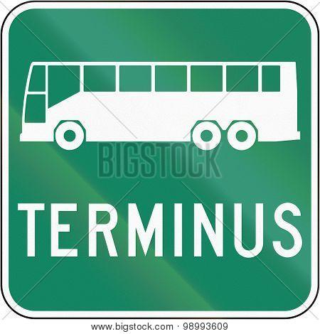 Bus Terminus In Canada