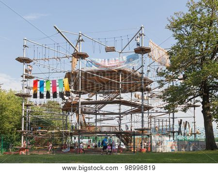 Moscow Exhibition Center, High Ropes Park