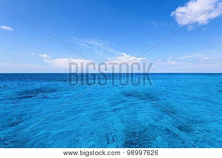 Blue Sea And Sky At Similan Island