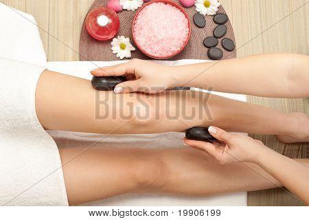 Massage Of Leg