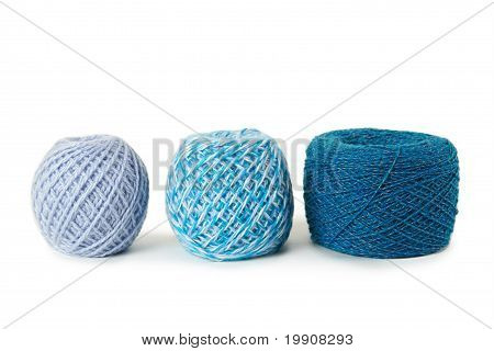 Blue Gamma Clews In A Row, Isolated