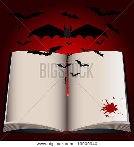 dark Book And Bats