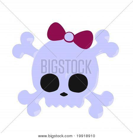 Skull And Crossbones Illustration