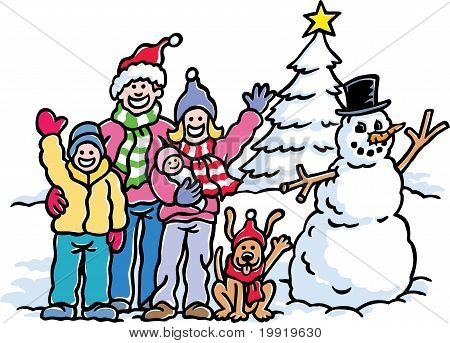 Family Winter Holiday