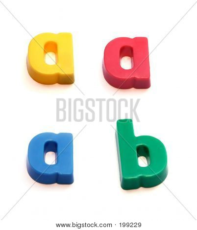 Abc Fridge Magnets