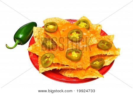 Nachos Isolated