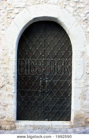 Medieval Strict Door
