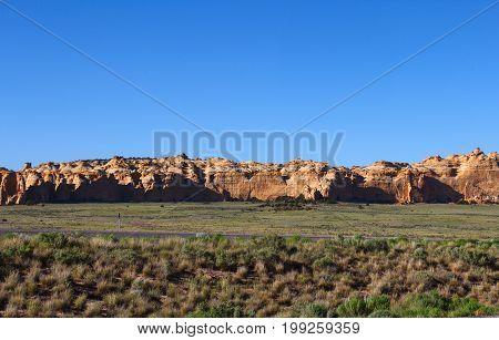 Rock formations in Utah - Nevada road trip