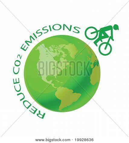 Reduce CO2 bike