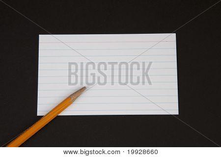 Dibujo a lápiz sobre papel