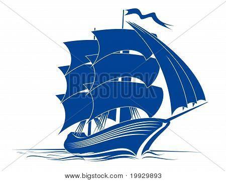 Brigantine Ship