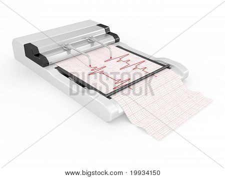The Cardiograph With The Cardiogramme