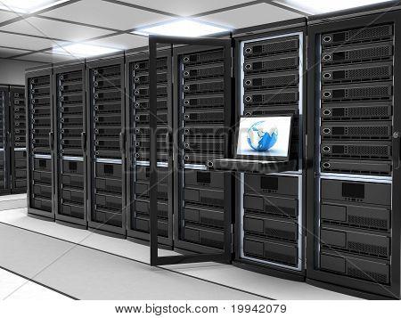 Server-room Black