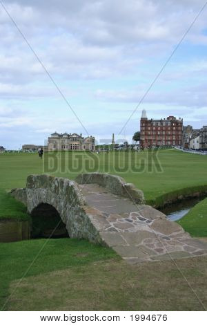 Bridge On St Andrews Golf Course