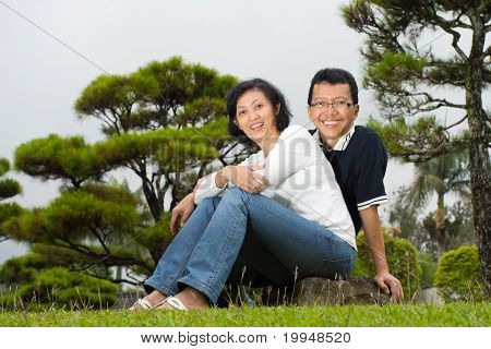Mature Asian Spouse Couple
