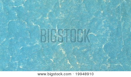 Worn Turquoise Paper