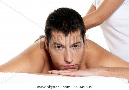 Man Receiving Massage