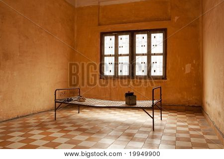 Torture Bed In Prison Cell
