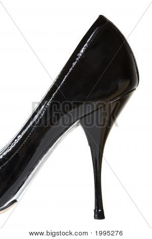 Female Patent Leather Shoes