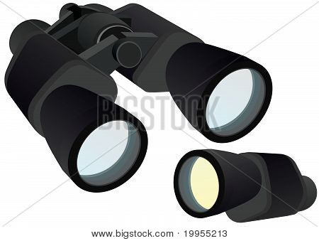 Binocular and monocular