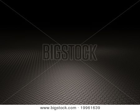 Steel grid plate backround