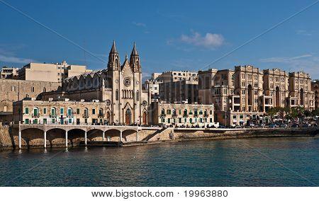 Balluta Bay, St. Julian's, Malta