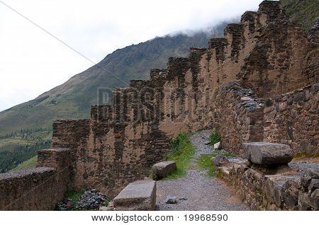 Ruins of Ollantambo, Peru