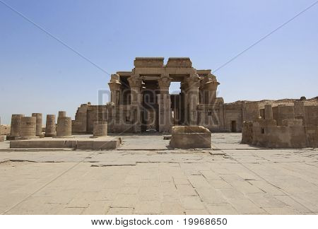Entrance To The Temple At Kom Ombo