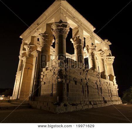 Kiosk Of Trajan At The Temple