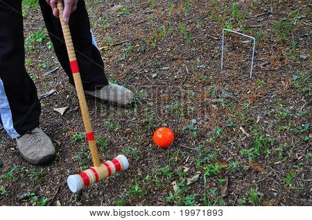 Game of Croquet