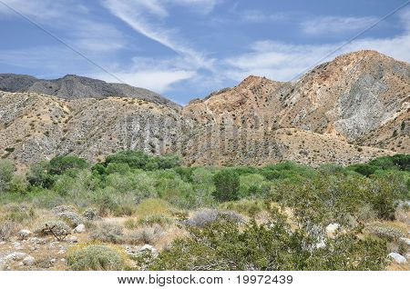 Canyon hillsides