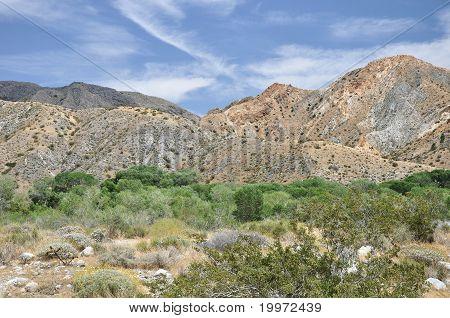 Canyon hillsides