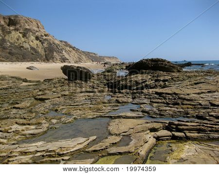Tidepools in Crystal Cove