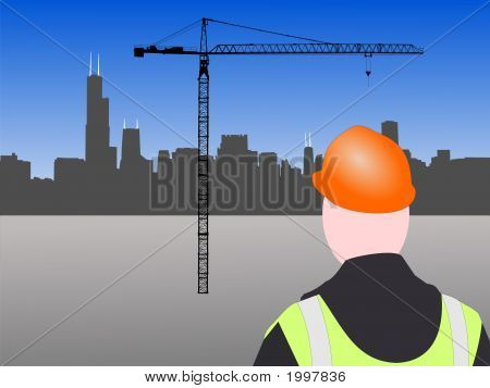 Chicago Construction Worker